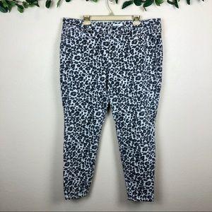 Loft Plus • Skinny Jeans In Leopard Print